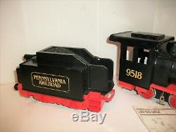 Playmobil G Gauge Train 2-4-0 electric Locomotive #9518 Pennsylvania Road