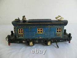 Prewar American Flyer O Gauge Bluebird Electric Locomotive #3113 Parts / Restore