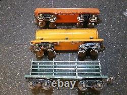 Prewar Ives standard gauge train set 3242, 190, 191, 192, 194, 195, 196