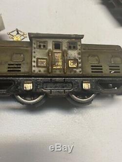 Prewar. Lionel Train 252 Olive Electric O Gauge Engine L22