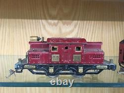 RARE Ives O Gauge 428 Interstate Limited Set with3254, 137, 137, 138 & SB 1928