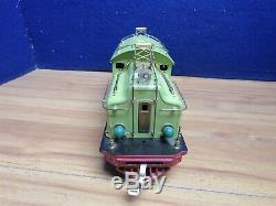 RESTORED Lionel Prewar Standard Gauge 408E Apple Green Electric 585439 896