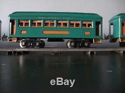 RESTORED Prewar Lionel Standard Gauge 10E Locomotive Passenger Train Set