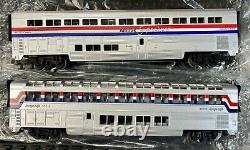 Rail King Amtrack Genesis R-T-R Electric Train Set W Proto 30-4018-1'O' Gauge