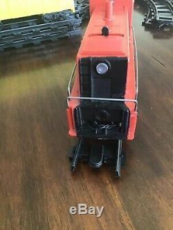 Rare Mexican Marx Plastimarx O-Gauge Train Electric Meteoro Diesel Locomotiv Set