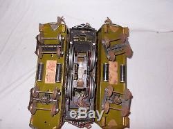 Rare Pre-war Lionel Standard Gauge #8 Engine & Passenger Car Set Lot #e-13