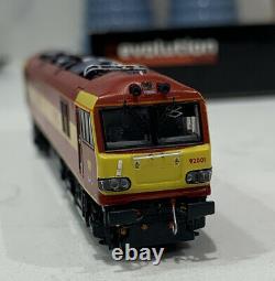 Revolution n gauge DCC Fitted Class 92 Electric loco EWS maroon N92001