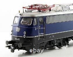 Roco Ho Gauge 43791 Db Class E10 472 Blue Electric Locomotive Weathered(dd2)