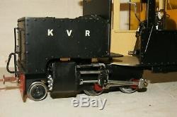 SM32 O gauge 32mm SCRATCHBUILT Beyer Garrett 2-4-0 0-4-2 BATTERY ELECTRIC 16mm