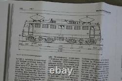 Scale/gauge 1 BRASS Metal kit Electric locomotive German DB Class E10 E110