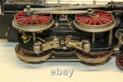 Super Rare Bing Us-market 1-gauge Cast Iron 4-4-0 Electric P. R. R. Train Set