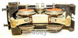 VINTAGE PRE-WAR KARL BUB #7110 0-GAUGE ELECTRIC LOCOMOTIVE withPASSENGER SET