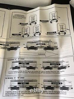 Vintage 2160 Southern Pacific O/027 Gauge Dual Motor, ALCO K-Line