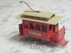 Vintage David O King Cast Iron Gauge Electric Broadway Railway Trolley O Guage