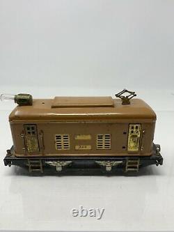 Vintage Lionel O gauge Electric Engine #248 Terra Cotta B17