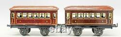Vintage Pre-war Bing #7820 Electric 0-gauge Passenger Train Set