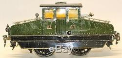Vintage Pre-war Rare Marklin 1-gauge P. O. E1 Clockwork Box Cab Locomotive
