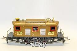 Vintage Pre-war Restored Standard Gauge Ives 3235r Electric Box Cab Locomotive