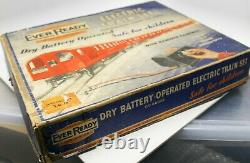 Vintage Rare British Ever-ready Electric 00-gauge Train (box Only)