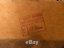 Vtg AMERICAN FLYER LONE SCOUT Wide Gauge Passenger Set 4635, 4250, 4251, 4252