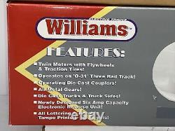 Williams E60-504 Amtrak E60 Electric Engine O Gauge Used #964 Power A unit
