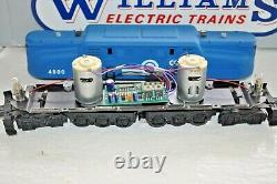 Williams Electric Trains 4800 Cornail Blue Gg1 Dual Motor Diesel O-gauge Ob