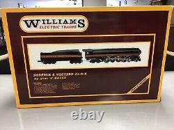 Williams Electric Trains, #5601, NORFOLK & WESTERN J4-8-4, O' Gauge. NIB