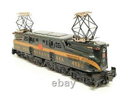 Williams GG-3000 14 Diecast GG-1 Locomotive 2360 Penn 5 Stripe O Gauge Orig Box