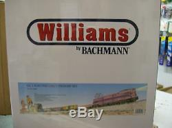 Williams GG1 Girls Freight Train Set Factory Sealed with Shipping Carton Very Rare