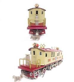 Williams O Gauge Ives #1694 4-4-4 Electric Box Cab Locomotive w Lionel Motor